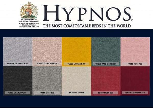 Hypnos Fabric Colours