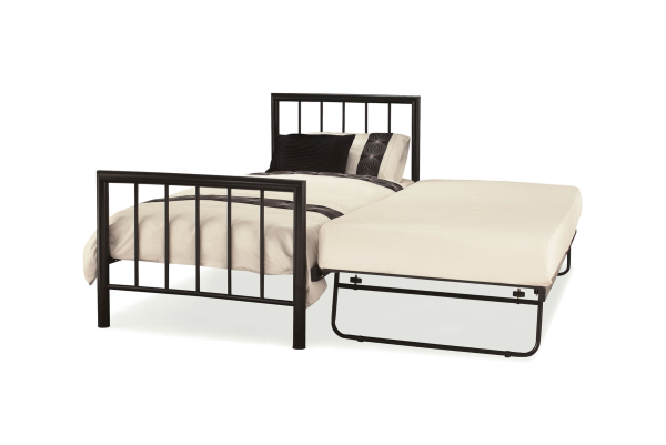 Serene Modena Black Guest Bed