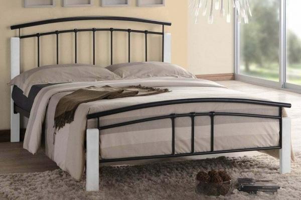 Tetras Bed Frame (Black/White)
