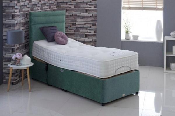 Healthbeds Wool Deluxe 1500 Adjustable Bed