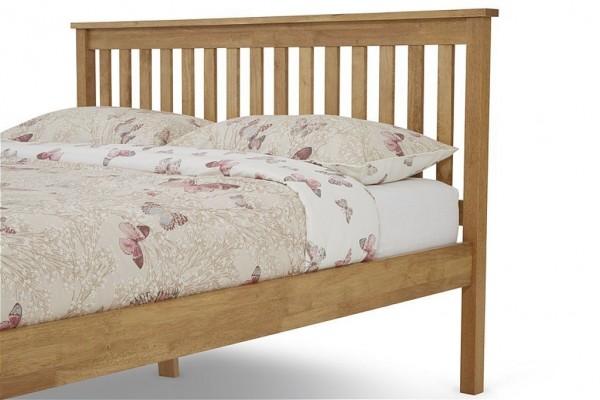 Oak Heather bed frame
