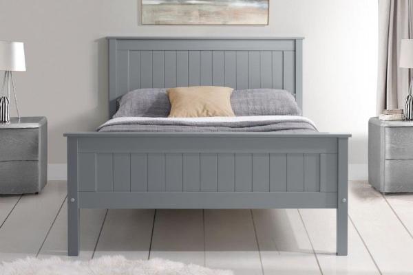 Limelight Taurus grey high end bed frame