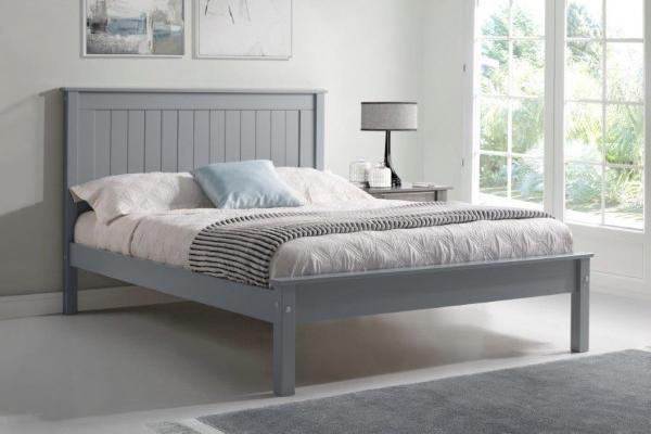 Taurus grey bed frame