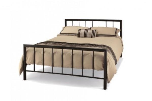 Serene modena black bed frame