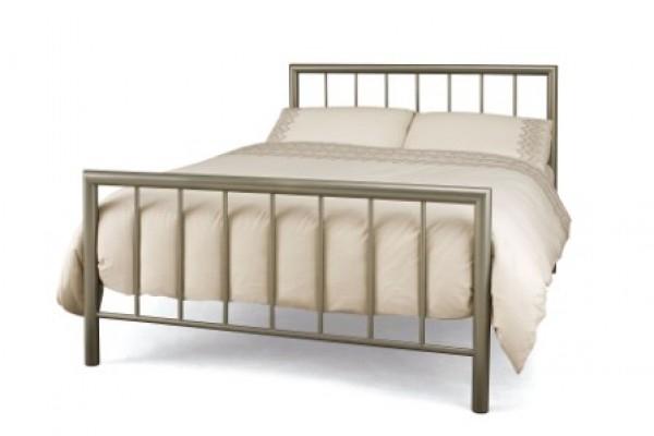 Serene Moderna Champagne Bed Frame