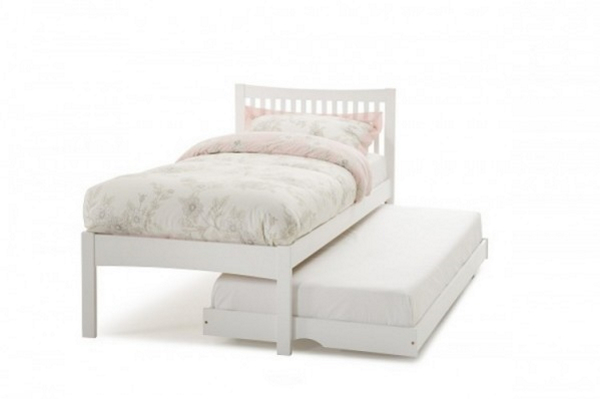 Mya White Guest Bed