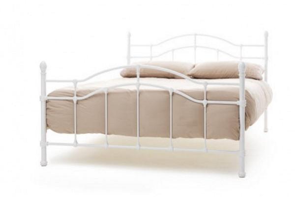 Serene Paris Bed Frame (White)