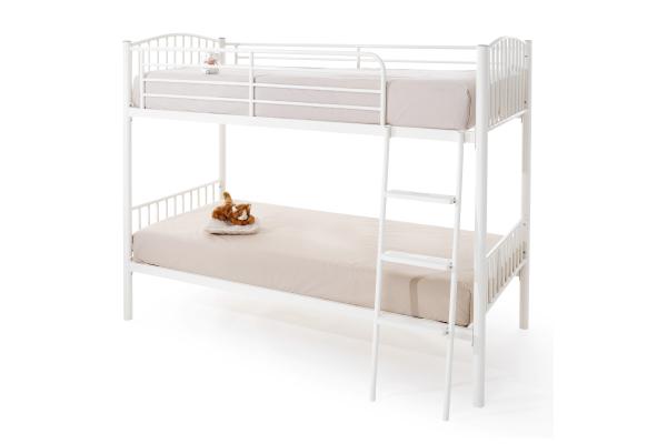 Serene olso bunk bed white