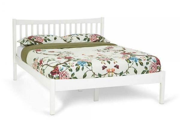 Serene Alice White Bed Frame