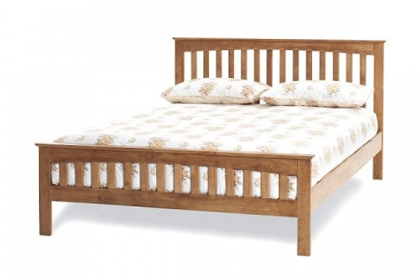Serene Amelia Bed Frame Oak