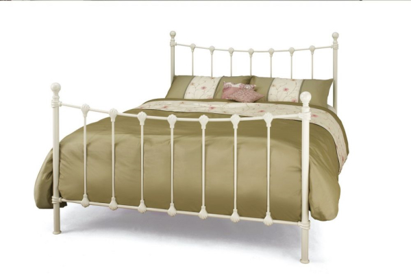 Serene Marseilles Bed Frame Ivory