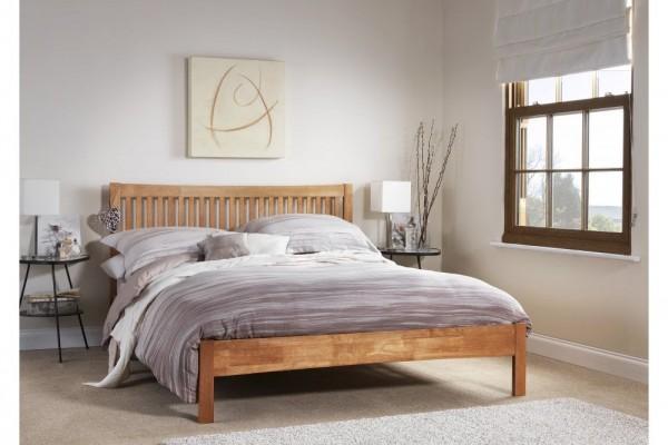 Serene Mya Bed Frame - oak