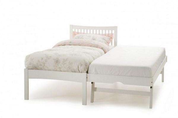 Serene Mya Guest Bed White
