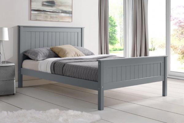 taurus grey high end bed frame