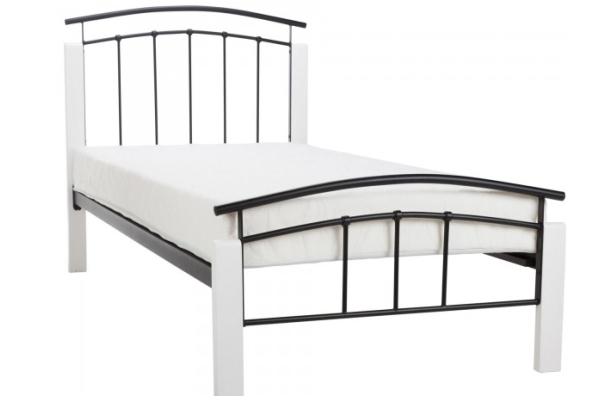 Birlea Tetras Bed Frame (Black/White)
