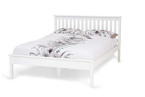 White Heather bed frame
