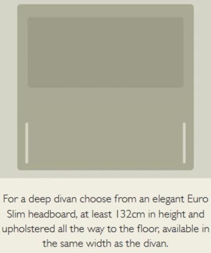 Euro Slim Headboard
