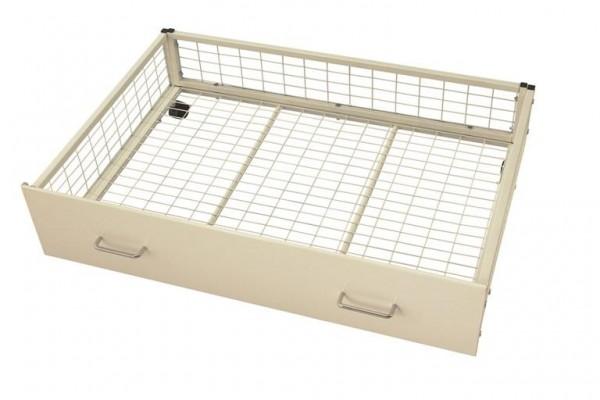 Metal Storage Drawer white