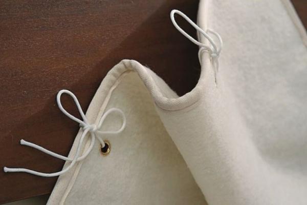 Vispring Wool Mattress Pad
