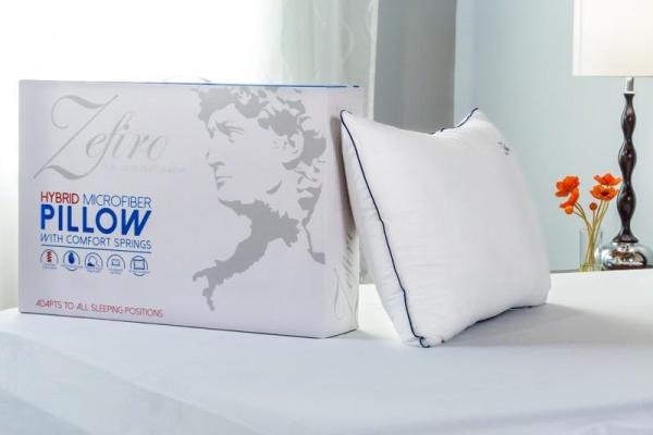Zefiro Microfibre Pocket Spring Pillow